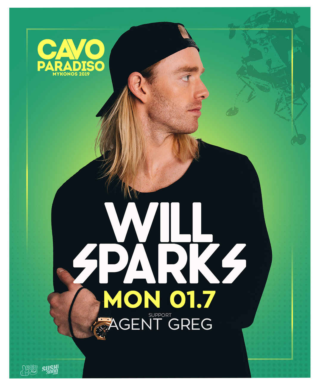 Will Sparks w/ support from Agent Greg