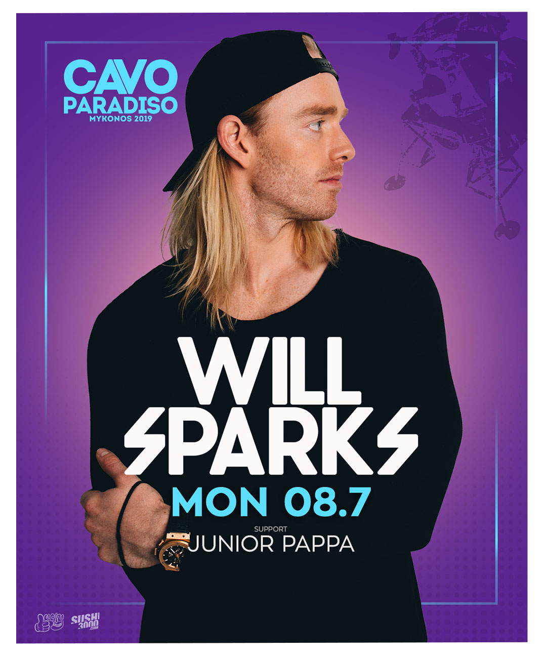 Will Sparks w/ support by Junior Pappa