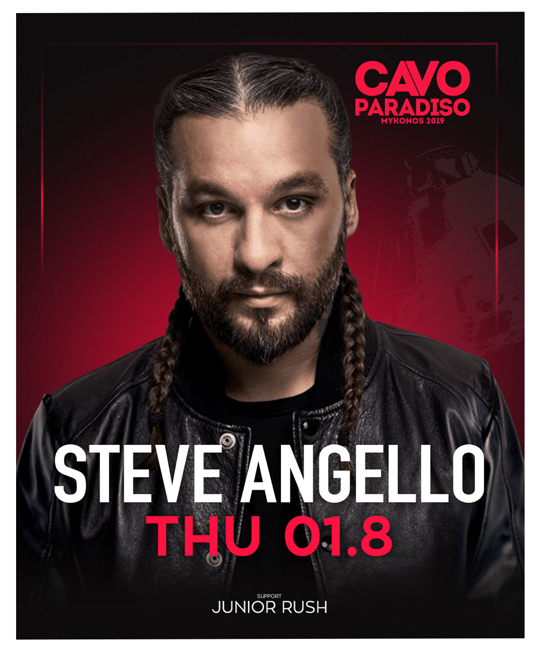 Steve Angello w/ support by Junior Rush