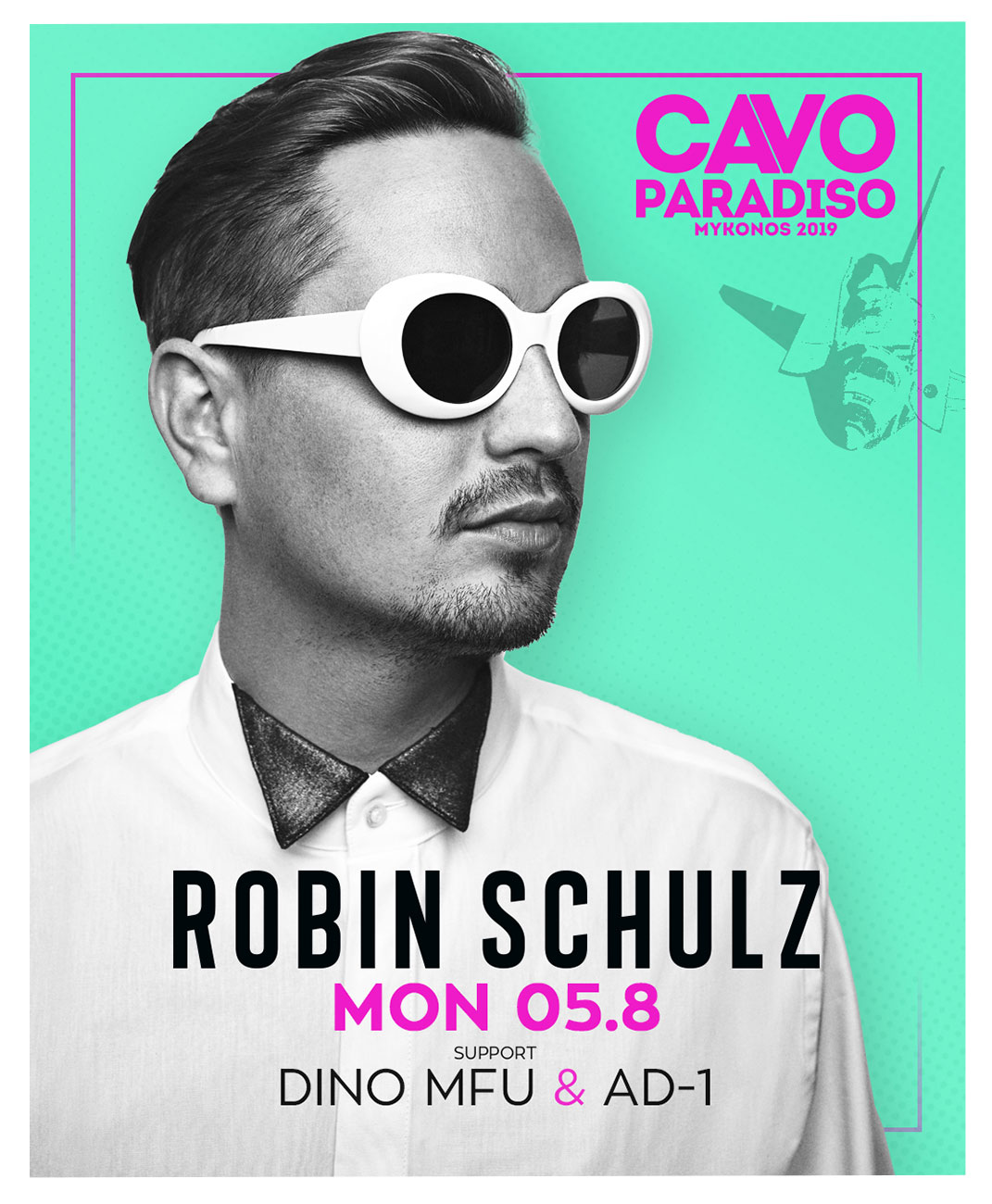 Robin Schulz w/ support by Dino MFU